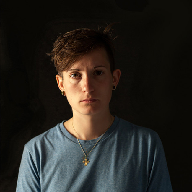 Portrait einer Frau.