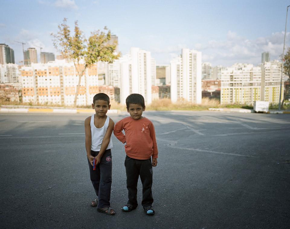 Portrait zweier Jungen