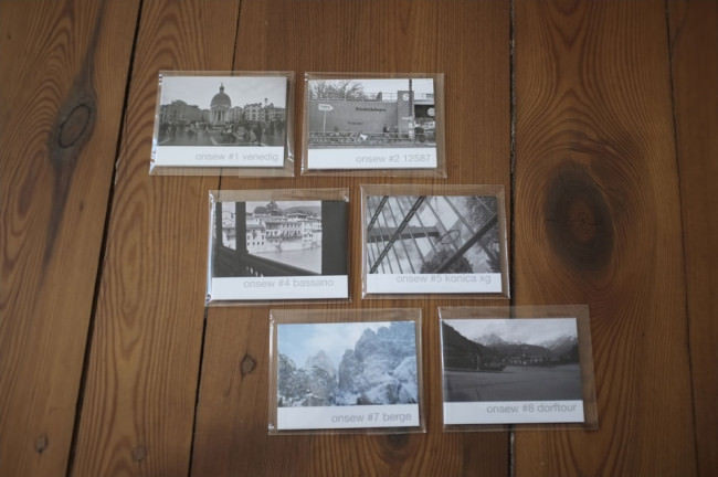 Sechs onsew-Minifanzines