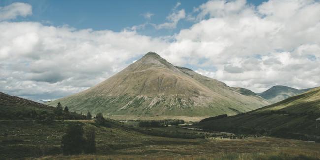 Ein grüner Berg