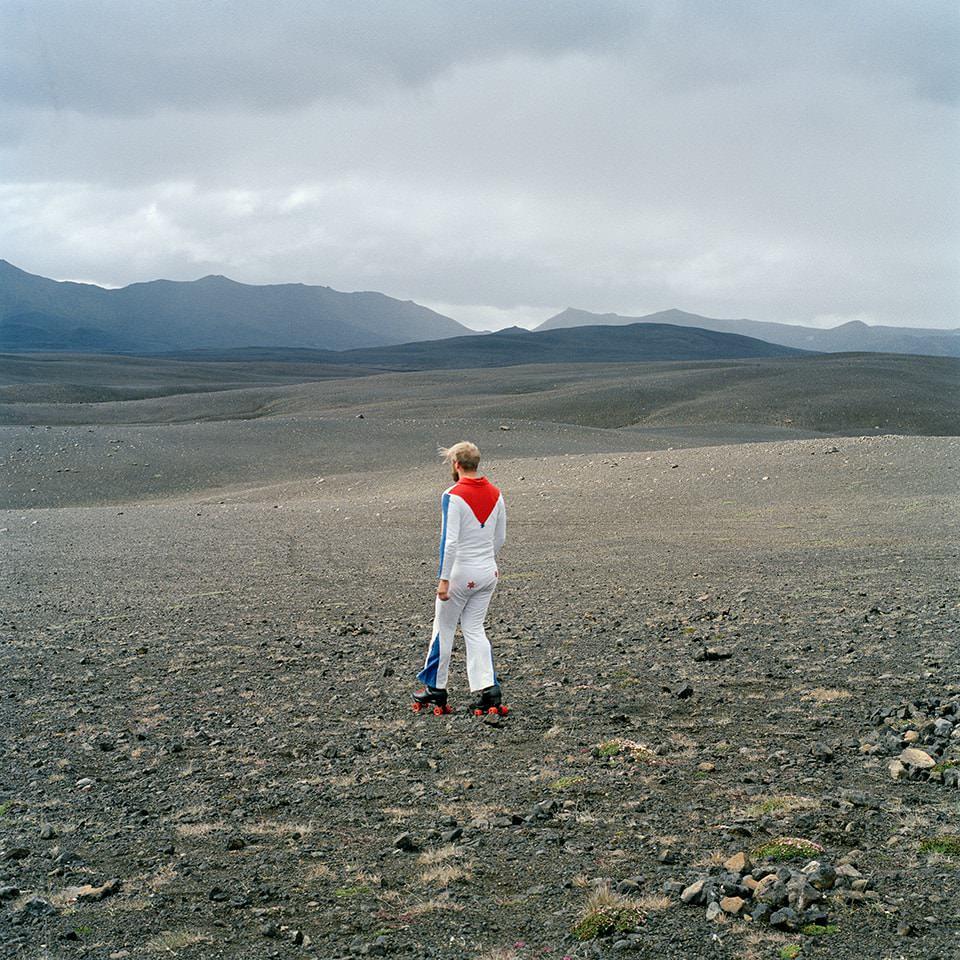 Ein Artist in Island