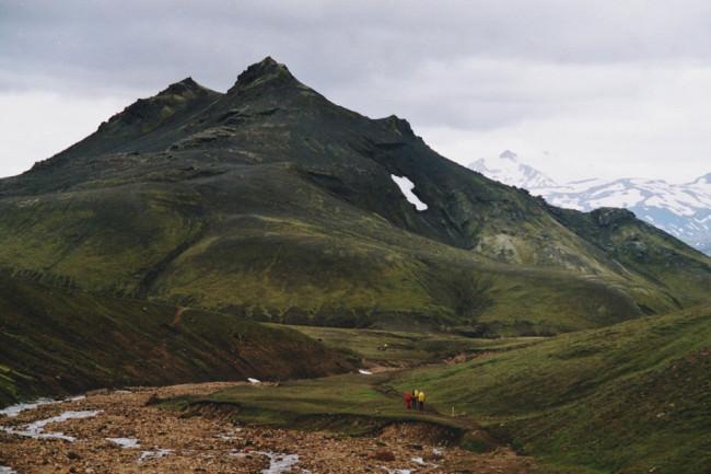 Grüne Hügelketten