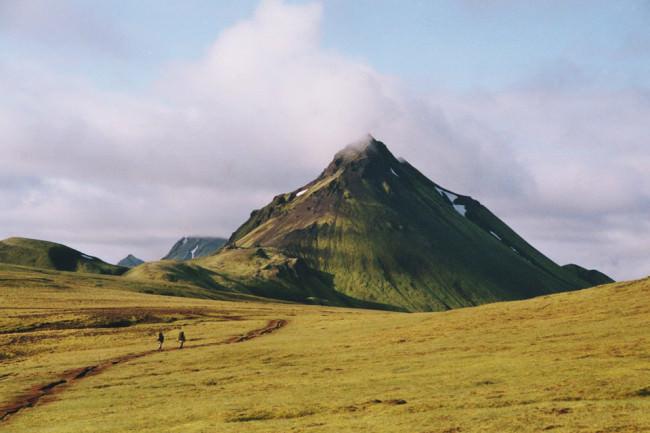 Ein Vulkan