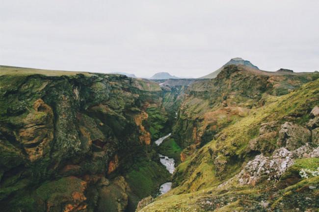 Ein Fluss im Abgrund