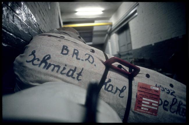 Tasche mit Schrift, Karl Schmidt