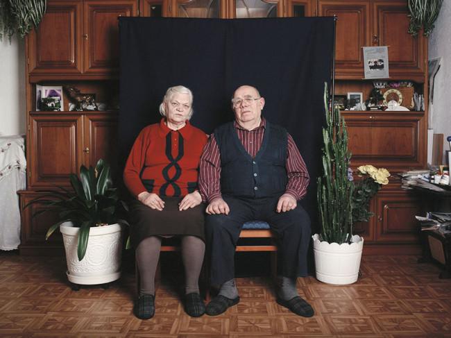 Ein altes Ehepaar
