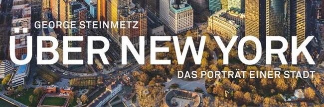 """Ausschnitt des Titelfotos des Buches """"Über New York"""" von George Steinmetz"""