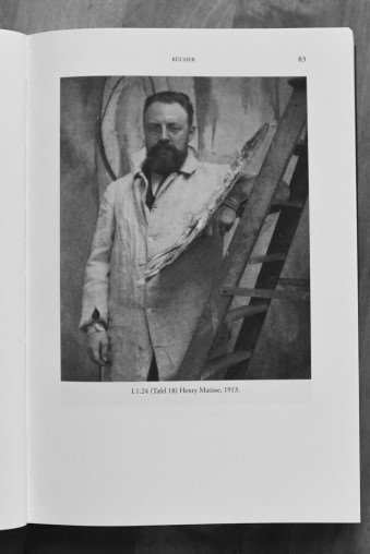 Portrait von Henry Matisse im Atelier