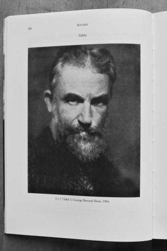 Portrait von George Bernard Shaw