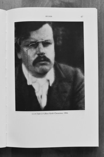 Portrait von Gilbert Keith Chesterton