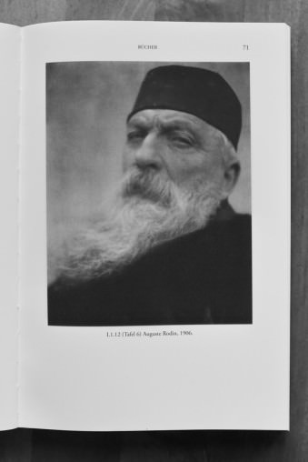 Portrait von Auguste Rodin