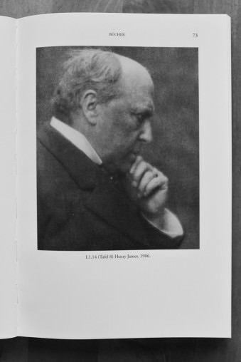 Portrait von Henry James