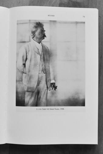Portrait von Mark Twain