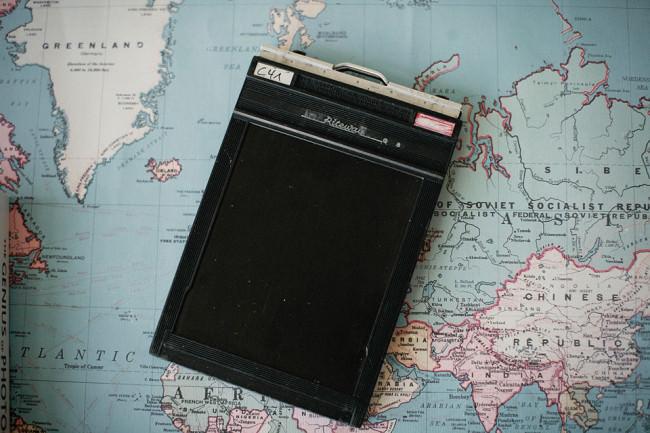 eine Planfilmkassette