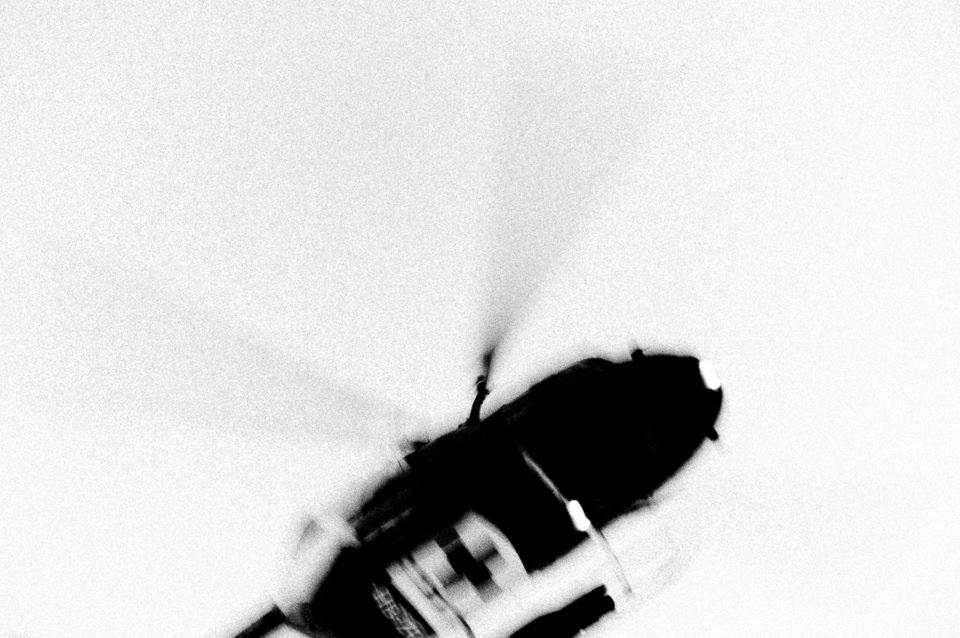 Ein Hubschrauber