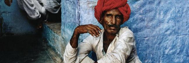 Ausschnitt des Covers von Indien von Steve McCurry