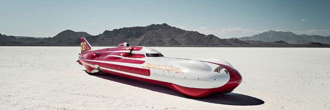 Ausschnitt vom Band The World's Fastest Place von Alexandra Lier