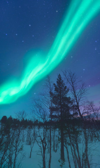 Nordlichter.