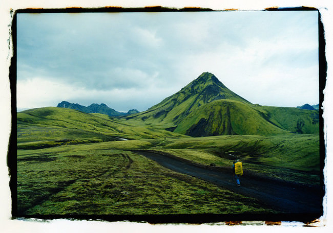 Ein Weg durch die Highlands.