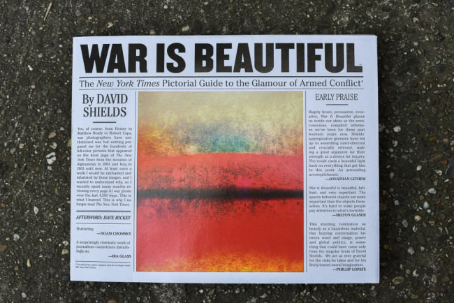 """Cover von """"War is Beautiful"""""""