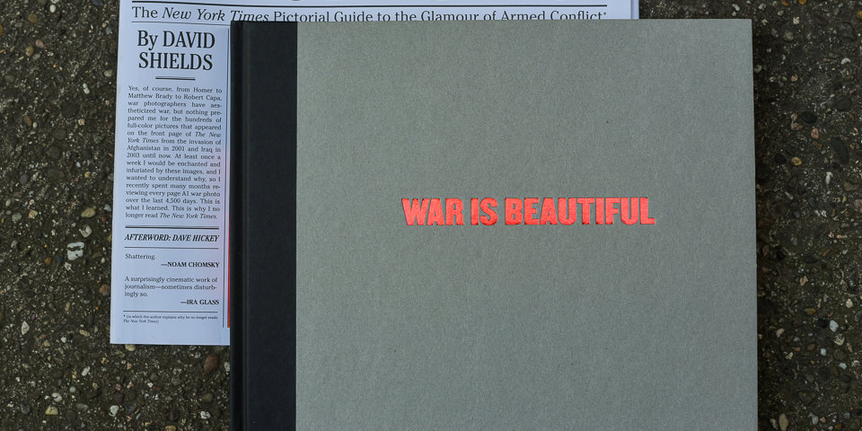"Cover des Buchs ""War is beautiful"""