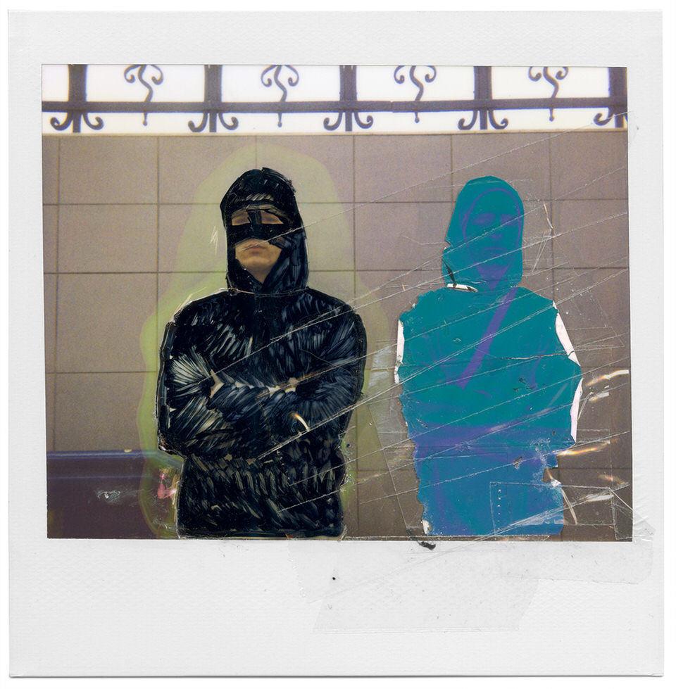 Ein verfremdetes Polaroid