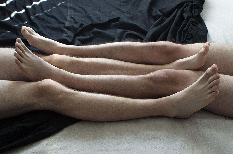 Füße, Beine, viele