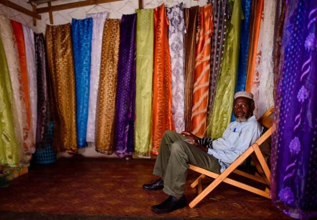 Ein Tuchhändler