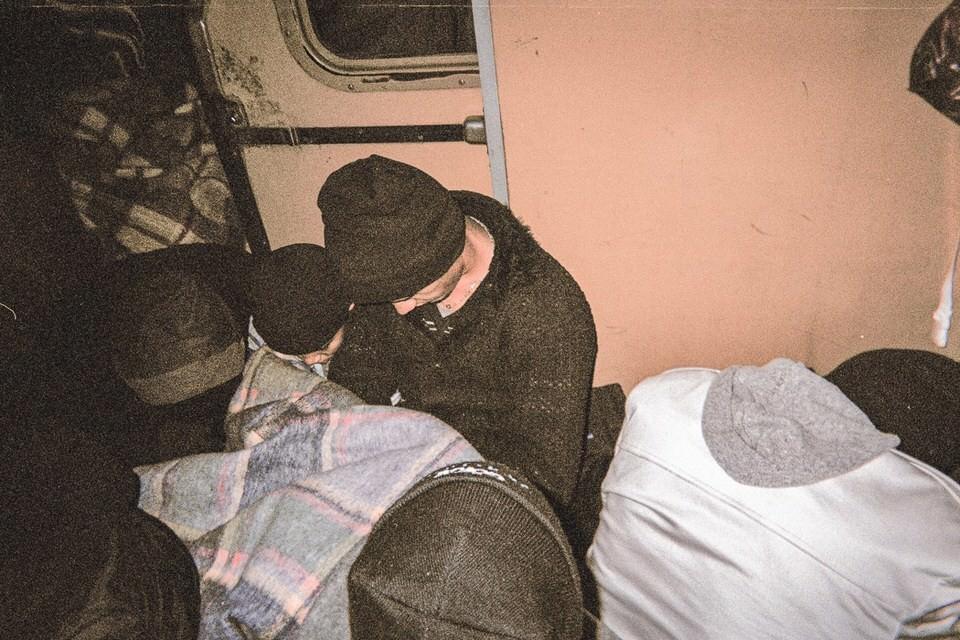 Schlafende Menschen