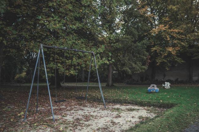 Ein alter Spielplatz