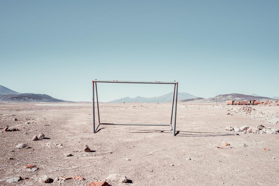 Ein Tor in der Wüste