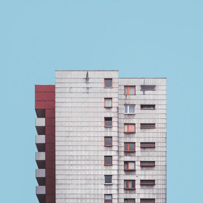 Ein Hochhaus