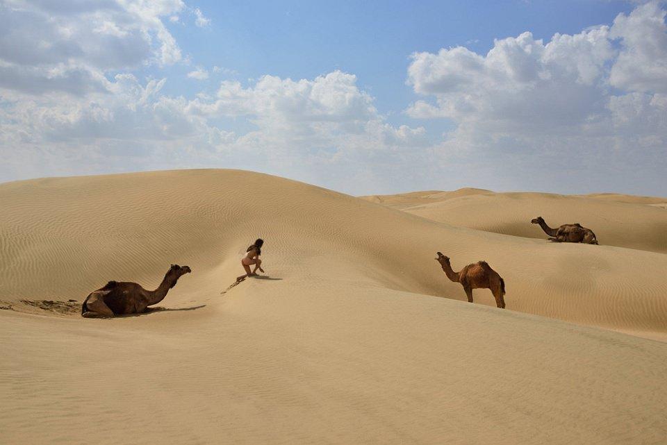 Auf den Spuren der Kamele - kwerfeldein - Magazin für