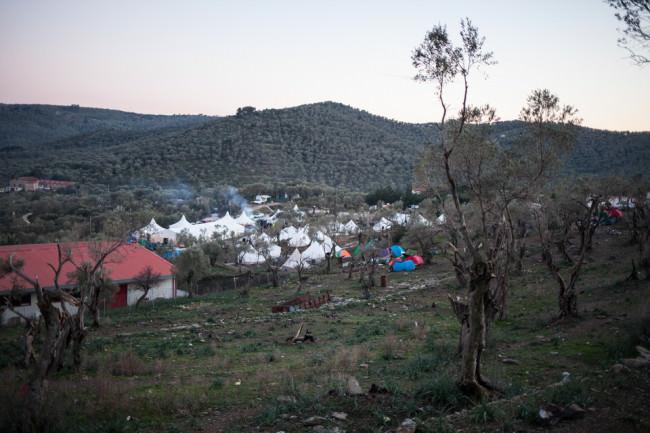 Ein Zeltlager