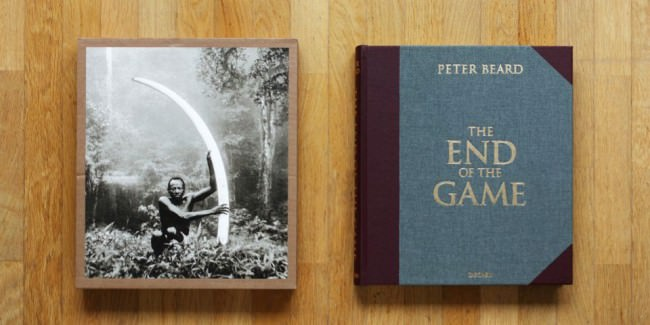 "Schuber und Cover von ""The End of the Game"" von Peter Beard"