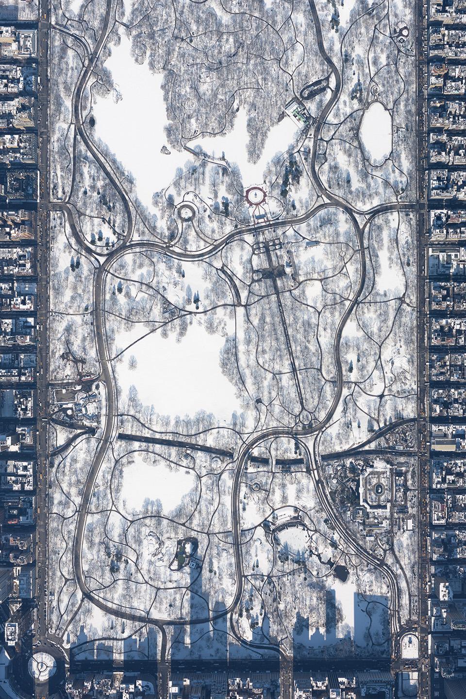 Luftaufnahme von Central Park