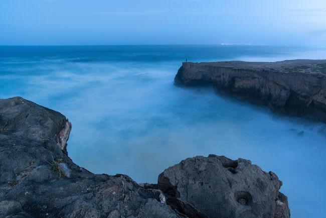 Bucht an der Küste