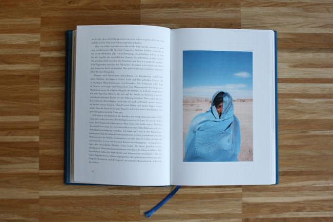 Einblick in ein Buch