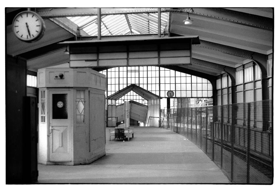 eine Ubahnstation