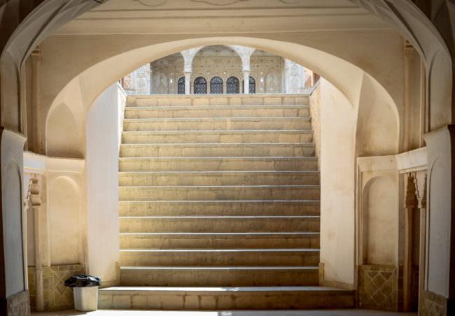 Treppe des Chane-ye-Tabatabayi