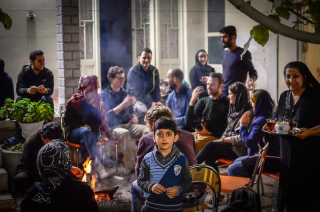 Familienfeier am Aschura Abend