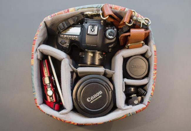 Kamera in Kamerafach