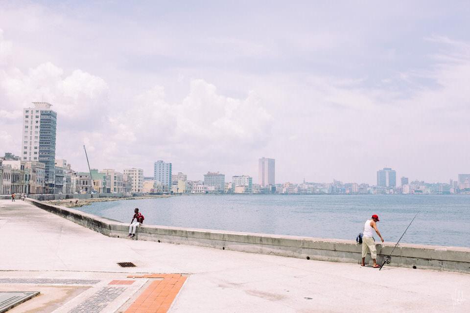 Eine Promenade