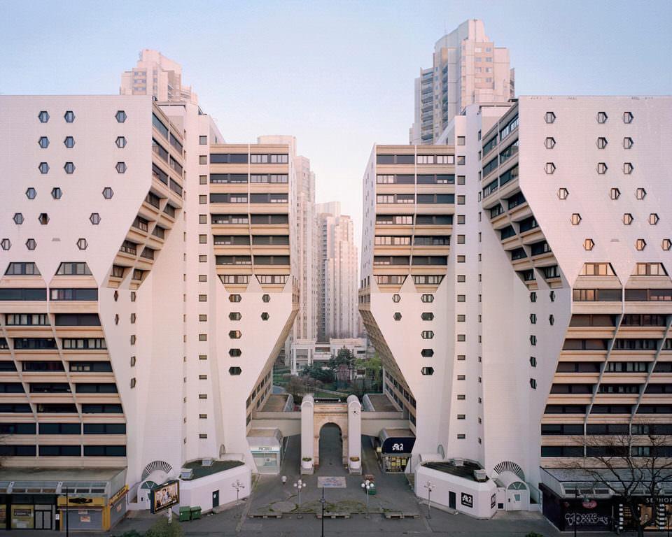 Symmetrische Architektur