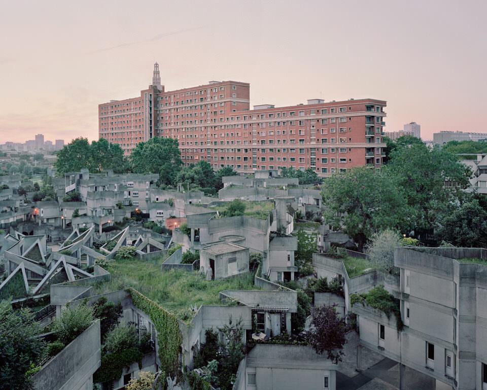 Futuristische Stadtansicht