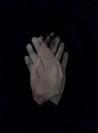 Mehrfachbelichtung einer Hand