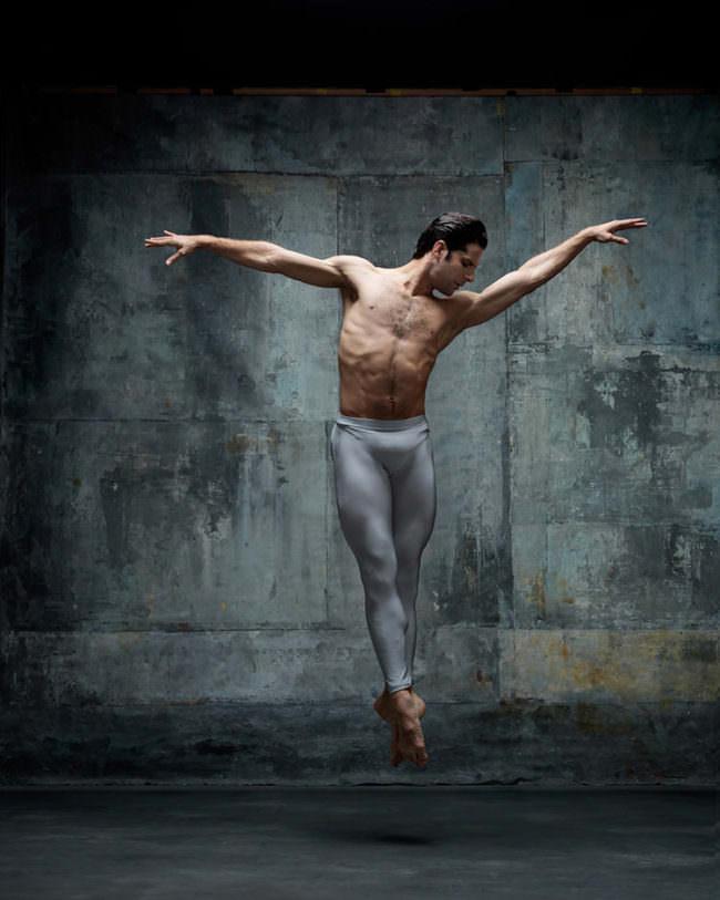 Ein Balletttänzer