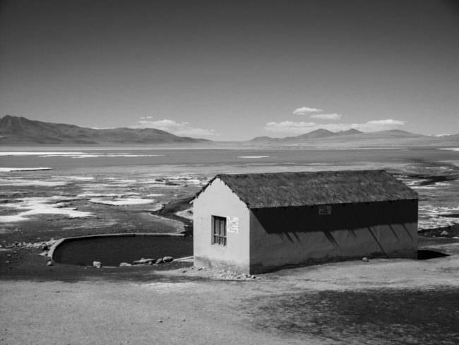 Haus in der Wüste