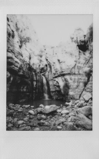 Sofortbild eines Wasserfalls