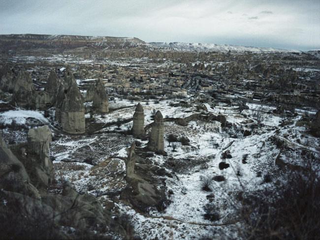 Eine surreale Landschaft